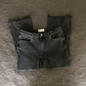 Free People crop flare jeans
